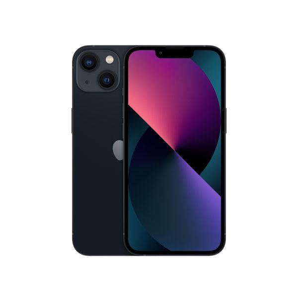 iPhone 13 Black, темная ночь